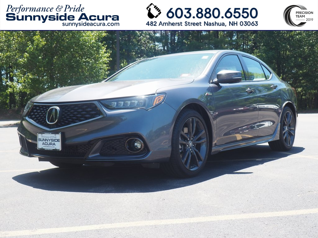 Certified Pre-Owned 2020 Acura TLX V-6 with A-Spec Package