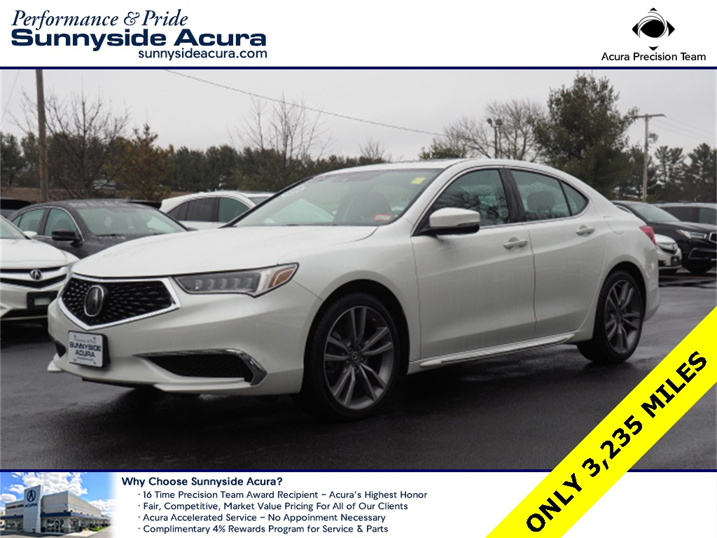 Certified Pre-Owned 2020 Acura TLX V-6 SH-AWD with Technology Package