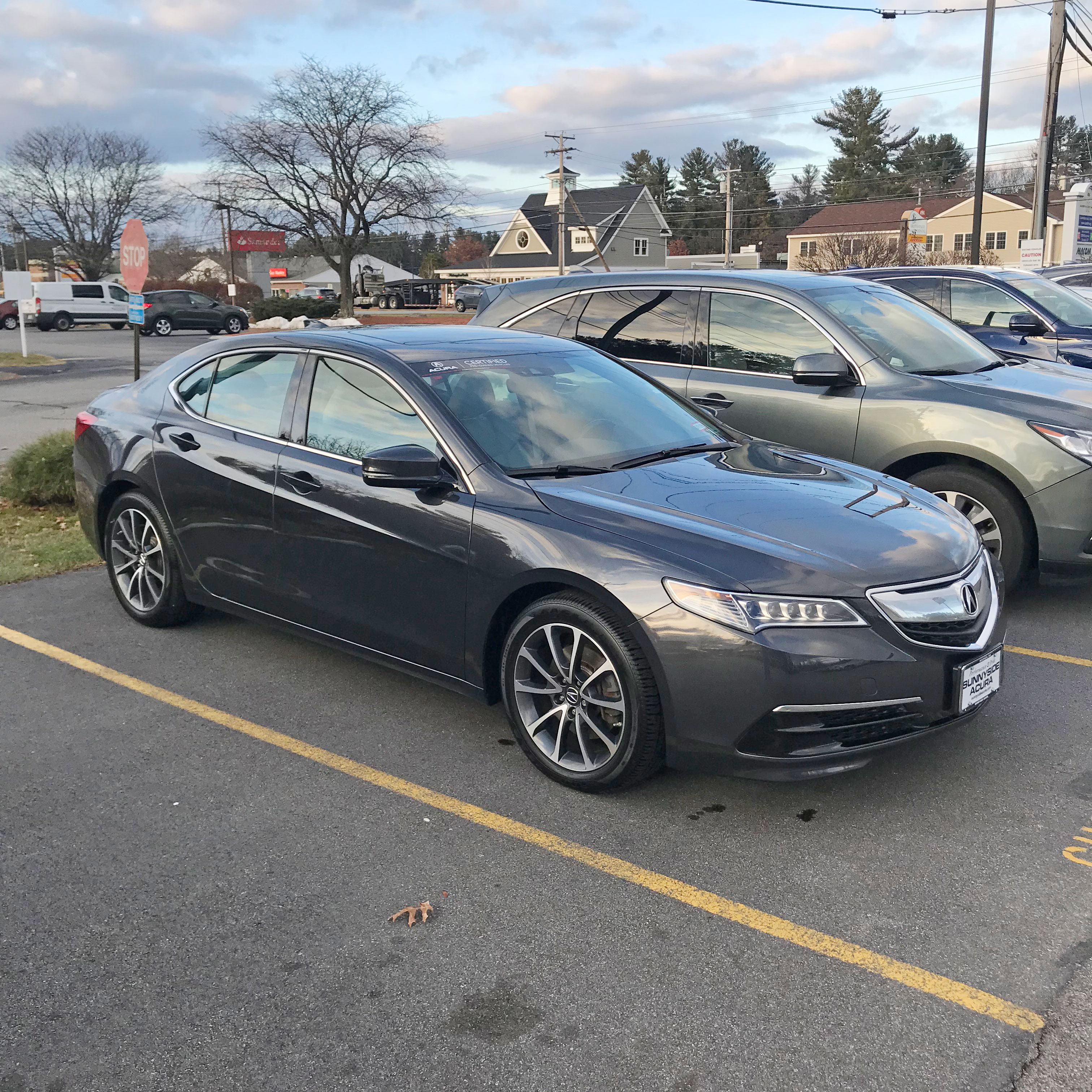 Certified Pre Owned 2015 Acura TLX 3 5 V 6 9 AT SH AWD with