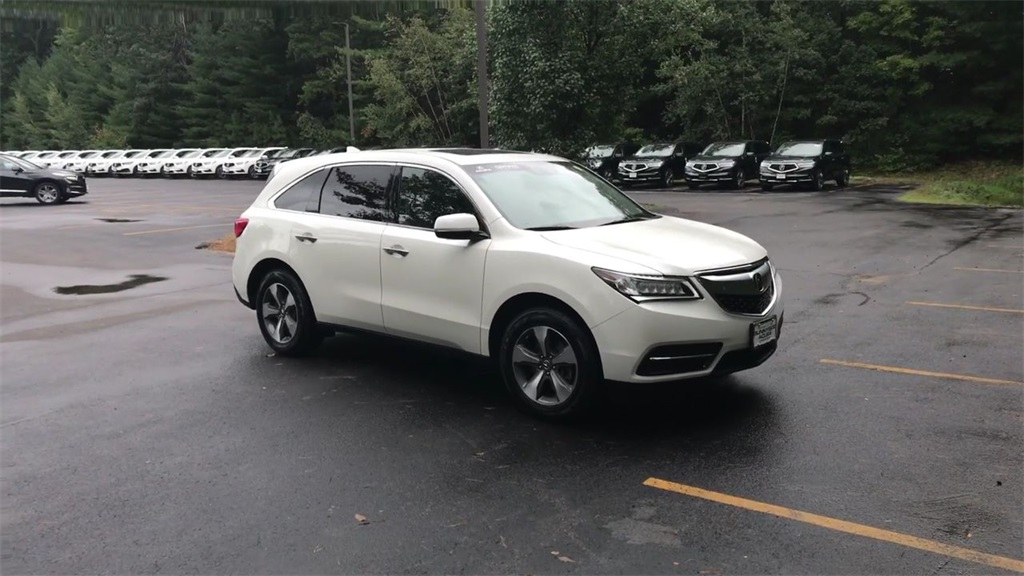 Certified PreOwned Acura MDX SHAWD D Sport Utility In Nashua - Tow hitch for acura mdx