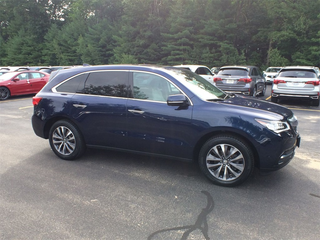 PreOwned Acura MDX L V D Sport Utility In Nashua P - Acura mdx pre owned