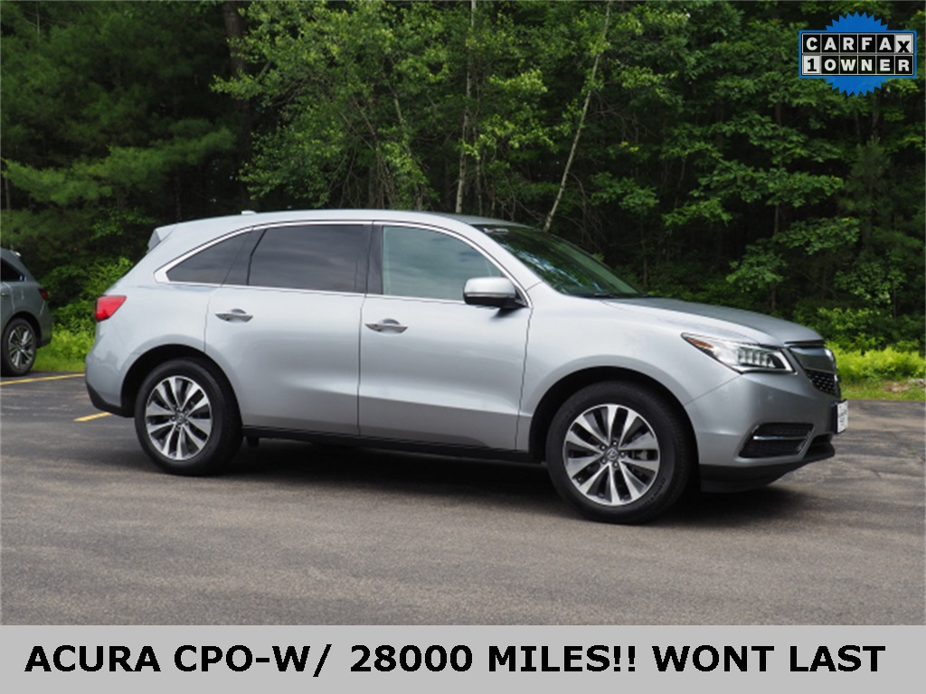 Pre-Owned 2016 Acura MDX SH-AWD with Technology Package