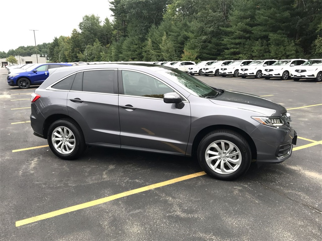 Certified PreOwned Acura RDX AWD D Sport Utility In Nashua - 2018 acura rdx headlights