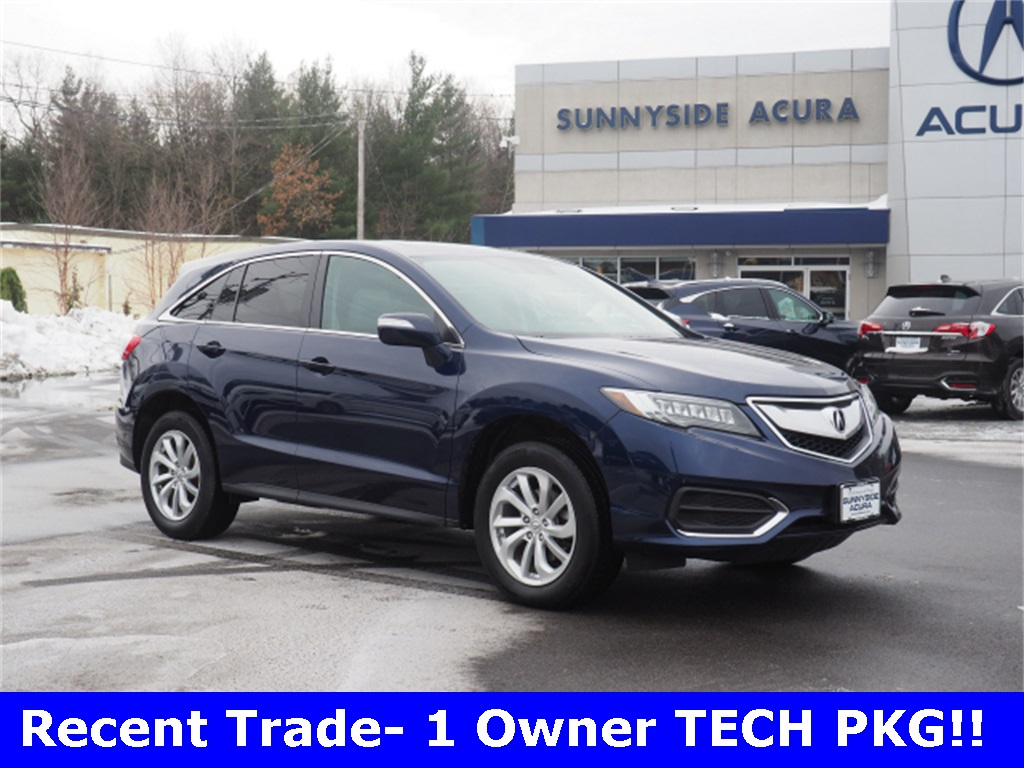 Pre-Owned 2017 Acura RDX AWD with Technology Package