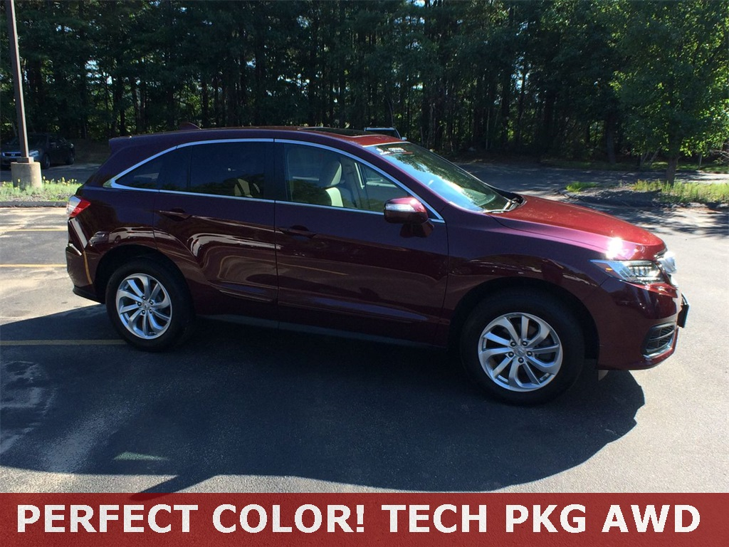 Certified Pre Owned 2016 Acura Rdx Awd With Technology Package 4d Car Colors