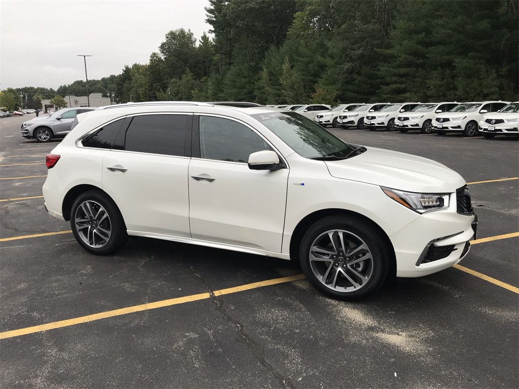 Certified PreOwned Acura MDX Sport Hybrid SHAWD With Advance - Acura hybrid 2018