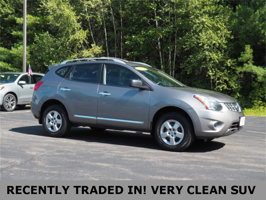 Nissan Rogue Select >> Pre Owned 2014 Nissan Rogue Select S