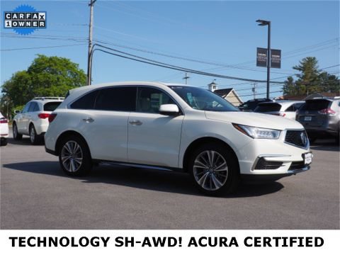 Pre-Owned 2017 Acura MDX SH-AWD with Technology Package